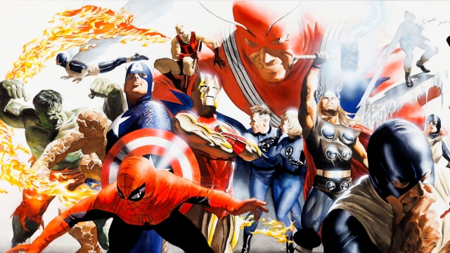 Marvel Revolution Alex Ross